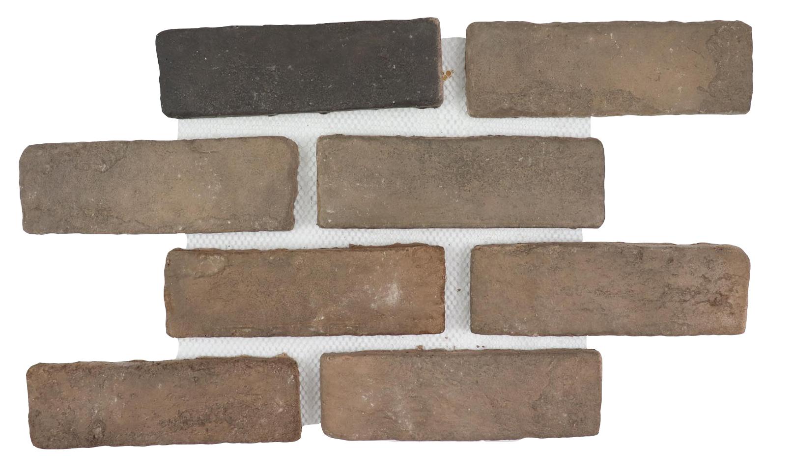 BrickWorks Historic Collection - Antiqued Merlot Flats 10.5 x 15.5