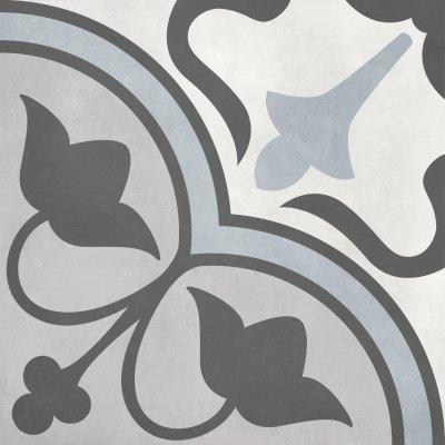Form Tide Clover Deco Porcelain Tile 8 x 8